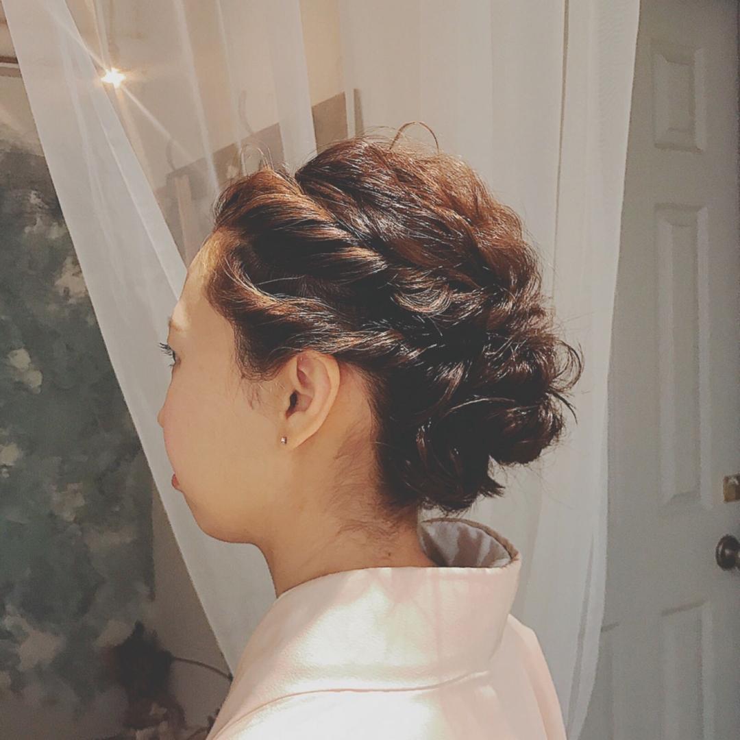 浦川 由起江さんのヘアスタイルの写真。テーマは『ヘアアレンジ、arrange、着物ヘア、プライベートサロン、nanon』