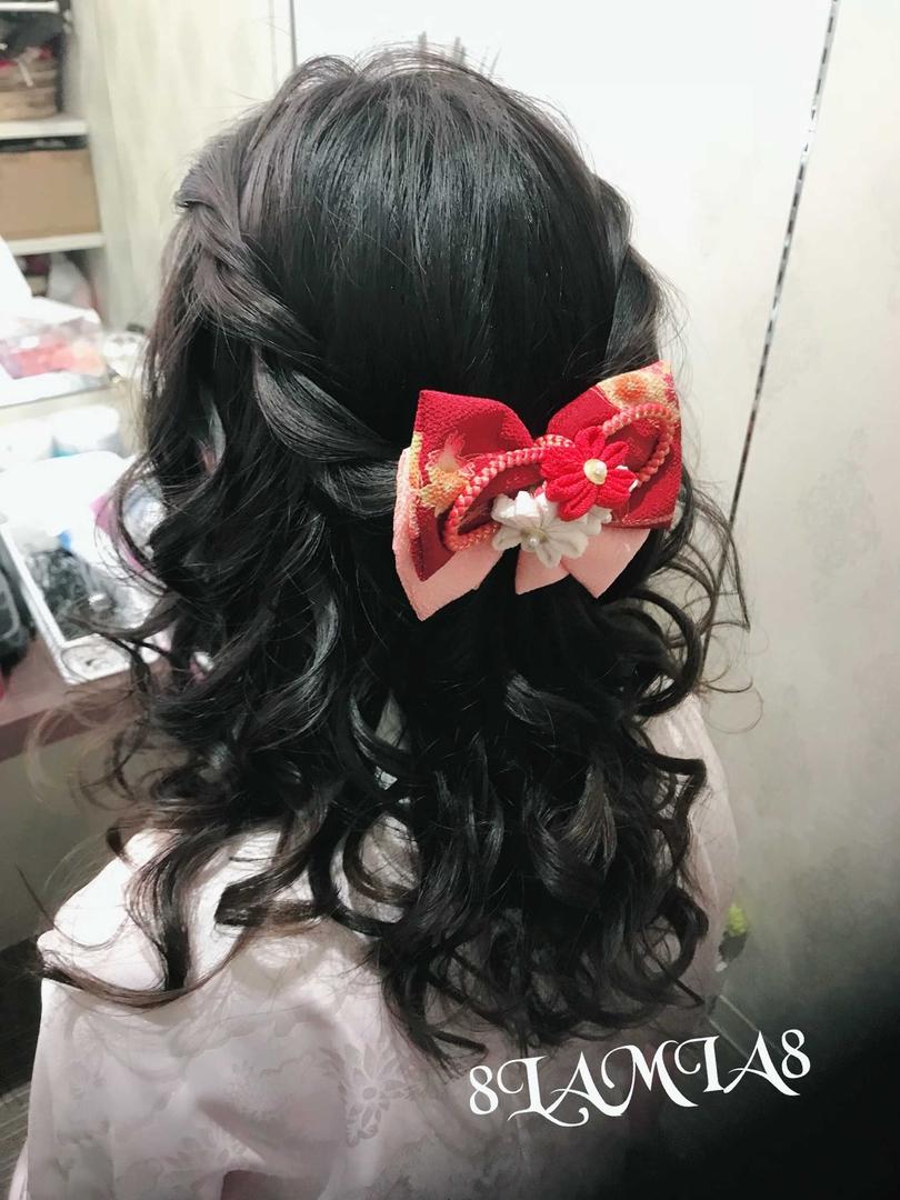 hair&make 8LAMIA8(ラミア)さんのヘアスタイルの写真。テーマは『広島、8LAMIA8、美容院、ヘアカラー、ヘアエクステ、ヘアセット、ヘアアレンジ、メイク、編み込みエクステ、シールエクステ、JHSS広島校、ヘアメイクスクール、24時迄営業の美容室、広島市中区、広島美容室、広島市、託児サービス、駐車料金サービス』