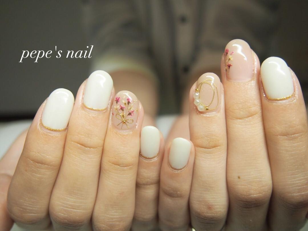 pepe's nailさんの写真。テーマは『pepesnail、nail、nailart、nailstagram、gelnail、nails、paragel、pregel、vetro、bellaforma、handnail、ネイル、ネイルアート、シンプルネイル、ワイヤーネイル、ドライフラワー、押し花ネイル、ハンドネイル、自宅ネイル、大分市、大分市ネイル』