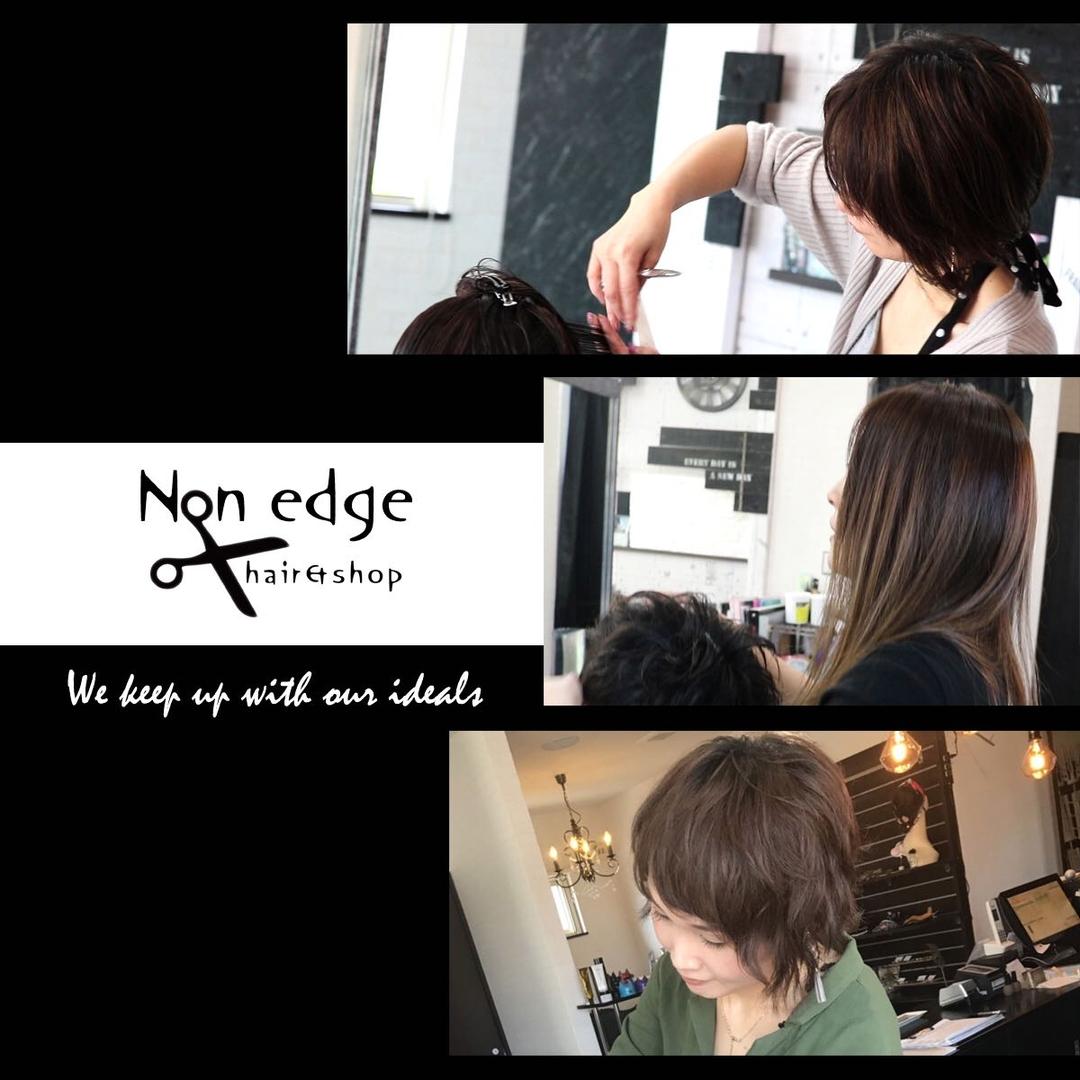 NON EDGE-苫小牧-さんのヘアスタイルの写真。テーマは『令和、令和元年、苫小牧、苫小牧美容室、苫小牧美容室ノンエッジ、頭皮ケア、首、小じわ、無料、令和最初、美容師、スタッフ、北海道、女性、女性美容師、ママ美容師、美容室、ヘアサロン』