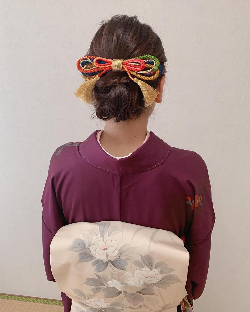 Moriyama  Mamiさんのヘアスタイルの写真。テーマは『ボブアレンジ、ボブヘアアレンジ、ミディアム、ミディアムアレンジ、大人スタイル、着物女子、福岡ヘアセット、天神、ヘアアレンジ、ヘアセット、黒留袖、Threekeys、スリーキーズ、着物、福岡ヘアサロン、訪問着、結婚式ヘアアレンジ、ブライダルヘア、留袖、着付け、着物ヘア、和装ヘア、プレ花嫁、ヘアセット専門店、和装ヘアアレンジ、女子会、オトナ女子、着物レンタル、前撮り、結婚式お呼ばれヘア、早朝ヘアセット』