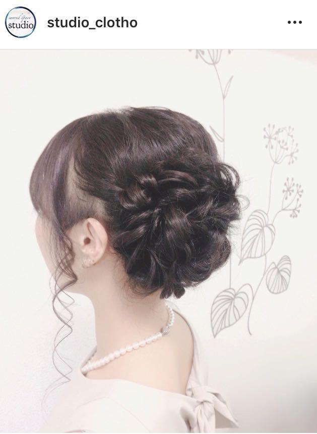 ヒロ(studio-clotho)さんのヘアスタイルの写真。テーマは『京都、祇園、kyoto、セットサロン、京都セットサロン、studioclotho、スタジオクロト、ヒロstudio、ヘアアレンジ、ヘアメイク、アーティスト、美容師、ファッション、モデル、カメラ、ナチュラル、ルーズ、エアリー、かわいい、おしゃれさんと繋がりたい、アップスタイル、あみこみ、ブライダル、結婚式、イベント、パーティ』