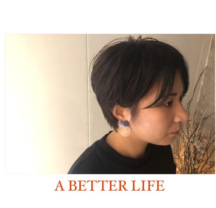 藤枝晃也さんのヘアスタイルの写真。テーマは『ボブ、ショート、イメージチェンジをしました。、ヘア』