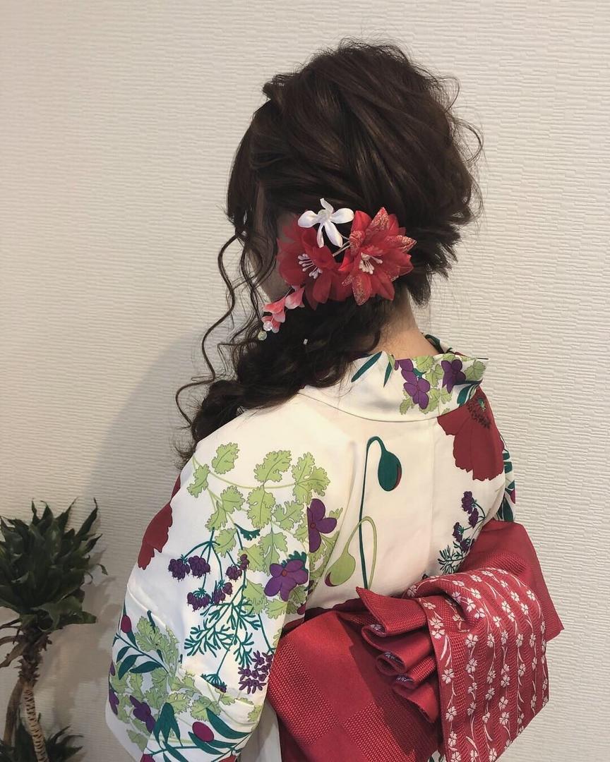 平原さんのヘアスタイルの写真。テーマは『宮崎市ヘアセット、宮崎市、ヘアセット専門店、セットサロン、ヘアセット、ヘアアレンジ、編み下ろし、宮崎セット、ブライダルヘア、宮崎ステラ、浴衣ヘアアレンジ、宮崎市美容室、編み込みヘア、宮崎、hair、hairset、hairstyle、hairarrange、宮崎美容室、宮崎市STELLA、宮崎市セットサロン、宮崎市成人式、宮崎県、編みおろし、宮崎市セット、浴衣ヘア、宮崎市ステラ、宮崎ヘアセット、ラプンツェルヘア』