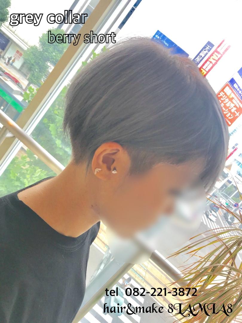 hair&make 8LAMIA8(ラミア)さんのヘアスタイルの写真。テーマは『広島、8LAMIA8、美容院、ヘアカラー、ヘアエクステ、ヘアセット、ヘアアレンジ、メイク、編み込みエクステ、シールエクステ、JHSS広島校、ヘアメイクスクール、24時迄営業の美容室、広島市中区、広島美容室、広島市、ディスコネクション、メンズ、令和、託児サービス、駐車料金サービス、@cosme』