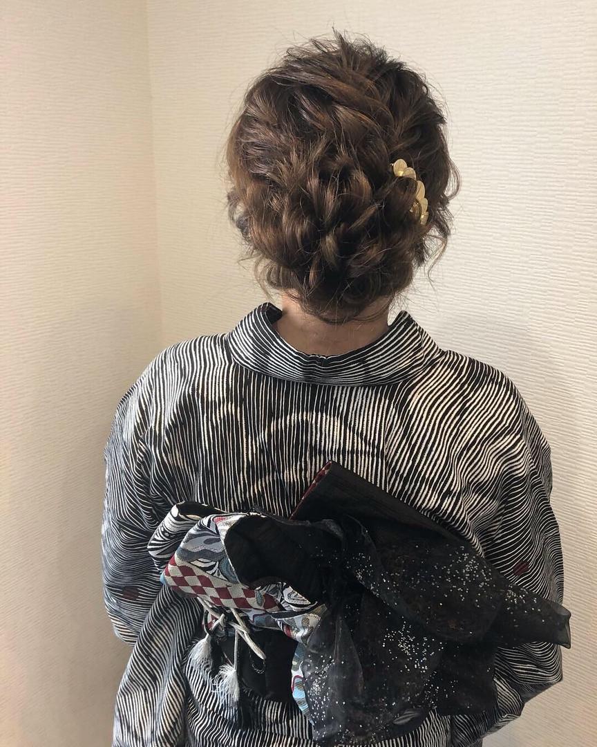 平原さんのヘアスタイルの写真。テーマは『宮崎市ヘアセット、宮崎市、ヘアセット専門店、セットサロン、ヘアセット、ヘアアレンジ、アップ、アップアレンジ、宮崎ヘアセット、およばれヘア、宮崎セット、結婚式ヘアアレンジ、結婚式ヘア、アップヘア、アレンジ、宮崎、hair、hairset、hairstyle、hairarrange、宮崎県、宮崎市STELLA、宮崎市美容室、宮崎市セット、宮崎市ステラ、アップヘアアレンジ、浴衣ヘア、成人式ヘア』