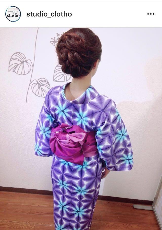 ヒロ(studio-clotho)さんのヘアスタイルの写真。テーマは『京都、祇園、kyoto、セットサロン、studioclotho、スタジオクロト、ヒロstudio、浴衣、浴衣ヘア、和装、ヘアアレンジ、帯、帯アレンジ、ヘアメイク、アーティスト、美容師、ファッション、モデル、カメラ、おしゃれ、おしゃれさんと繋がりたい、アップスタイル、夏祭り、花火、イベント、パーティ』