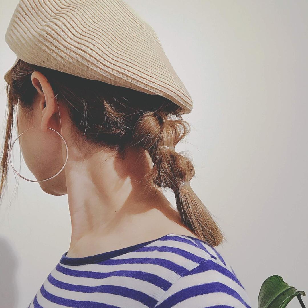 浦川 由起江さんのヘアスタイルの写真。テーマは『ヘアアレンジ、簡単ヘアアレンジ、プライベートサロン、nanon』