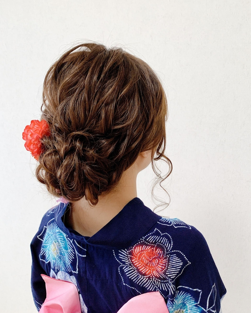 Moriyama  Mamiさんのヘアスタイルの写真。テーマは『浴衣ヘア、放生会、大人スタイル、着物女子、福岡ヘアセット、天神、ヘアアレンジ、ヘアセット、七五三ママヘア、Threekeys、スリーキーズ、着物、福岡結婚式、七五三前撮り、結婚式ヘアアレンジ、ブライダルヘア、花嫁ヘア、着付け、着物ヘア、和装ヘア、プレ花嫁、ヘアセット専門店、和装ヘアアレンジ、福岡ママ、オトナ女子、着物レンタル、前撮り、結婚式お呼ばれヘア、早朝ヘアセット』