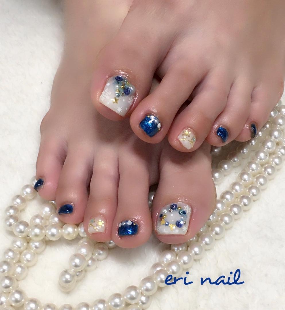 名古屋市天白区プライベートサロンeri nailさんのネイルデザインの写真。