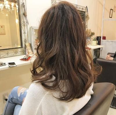 #ボブ #カラー #重め #外国人風 #tredina #hair2016w