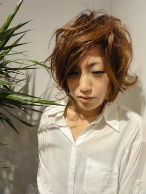 #外ハネ #ショート #カラー  #大人かわいい #ボブ #ウェーブ  #hair2016w