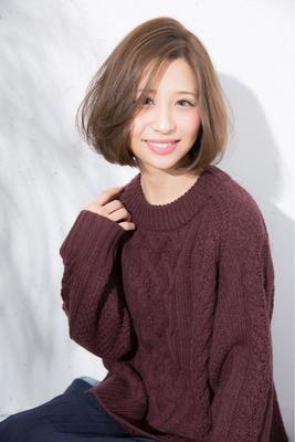 やわらか色っぽボブ。 #BAYROOM#美容室#横浜 #ボブ#ブルーアッシュ#大人ボブ  #hair2016w #nail2016w