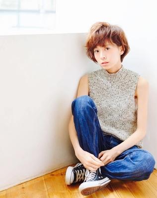 #美容室 #CLAN #渋谷 #ショート #イルミナカラー #グレージュ #ヘアスタイル #撮影 #hair2016w