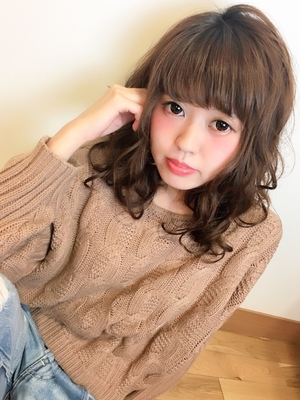 #hair2016w 甘めボーイッシュ