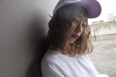 ロブ   #hair2016w #ハイトーン #ロブ #mina_style #福岡美容室 #今泉美容室
