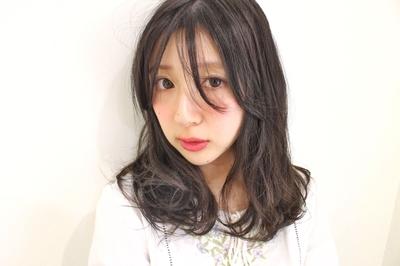 セミロングスタイル  #hair2016w #mina_style #今泉美容室 #福岡美容室 #アッシュ
