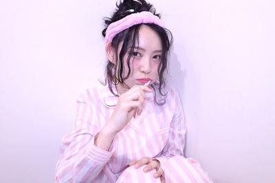 パジャマスタイル  #hair2016w #福岡美容室 #今泉美容室 #アレンジ #mina_style
