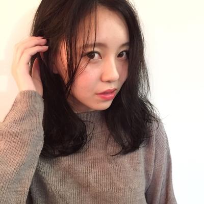 セミロング  #hair2016w #mina_style #今泉美容室 #福岡美容室 #セミロング