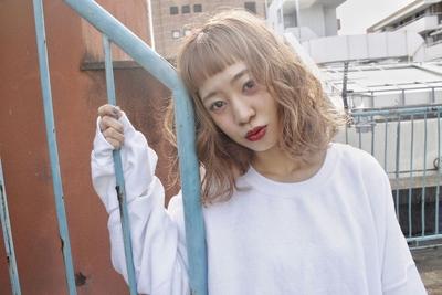 ロブ  #hair2016w #mina_style #福岡美容室 #今泉美容室 #ハイトーン #ロブ