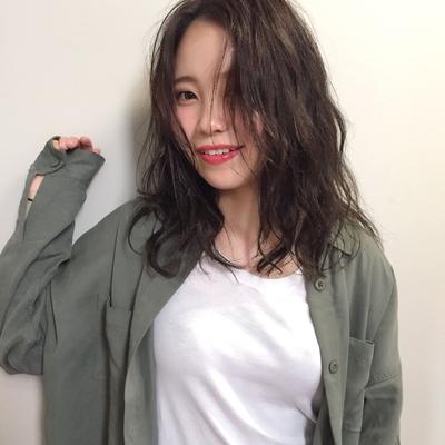 セミロング  #hair2016w #今泉美容室 #福岡美容室 #セミロング #mina_style