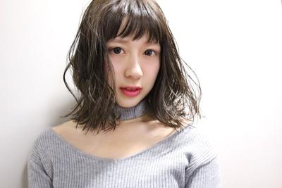 ハネミディ  #hair2016w #福岡美容室 #今泉美容室 #ハネミディ #mina_style