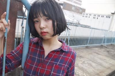 ボブ  #hair2016w #今泉美容室 #福岡美容室 #mina_style #ボブ #黒髪