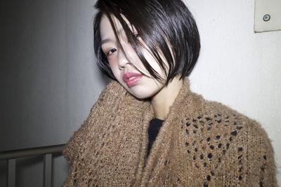 ショートボブ  #hair2016w #黒髪 #ショートボブ #福岡美容室 #今泉美容室 #mina_style
