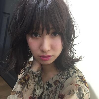 ハネミディ  #hair2016w #mina_style #福岡美容室 #今泉美容室 #セミディ