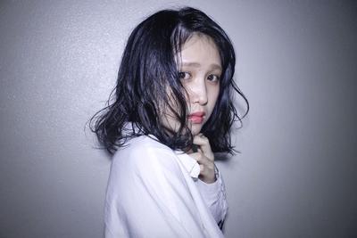 セミディ  #hair2016w #mina_style #今泉美容室 #福岡美容室 #黒髪 #セミディ