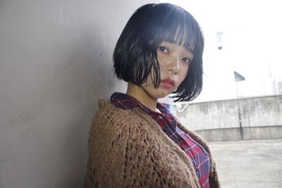 ボブ  #hair2016w #黒髪 #ボブ  #mina_style #福岡美容室 #今泉美容室