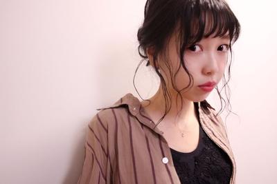 アレンジ  #hair2016w #mina_style #今泉美容室 #福岡美容室 #アレンジ