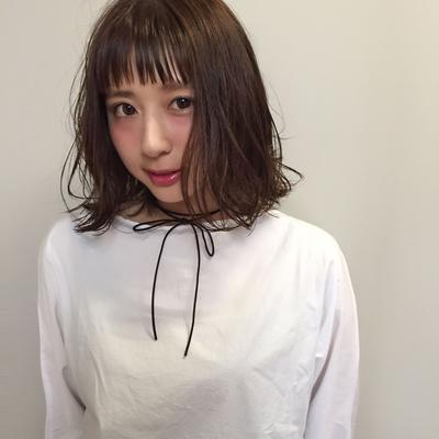 ロブ  #hair2016w #mina_style #福岡美容室 #今泉美容室 #ロブ