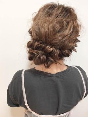 ガーリーアレンジ #backstyle#hair2016w#ゆるふわ#ガーリー#カジュアルアレンジ#デートスタイル#モテ