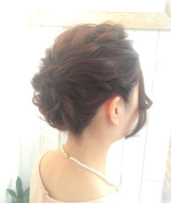 #セット #アップスタイル #結婚式 #パーティー #美容室 #umi #アレンジ #波ウェーブ #デート #ネモカール