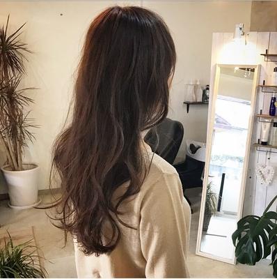 #前髪 #hair2016w #アッシュグレージュ #ロング #大人かわいい #褒められ髪 #可愛い #ハホニコ #ピンク