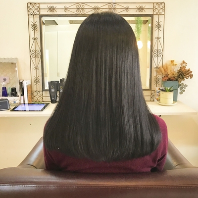 上質感が香り立つ美髪なんとアラフィフ!?アガるワザありヘアでツヤキラッす(^^) #ロング #大人かわいい #重め #ハホニコリタ #ハホニコ #winter #褒められ髪