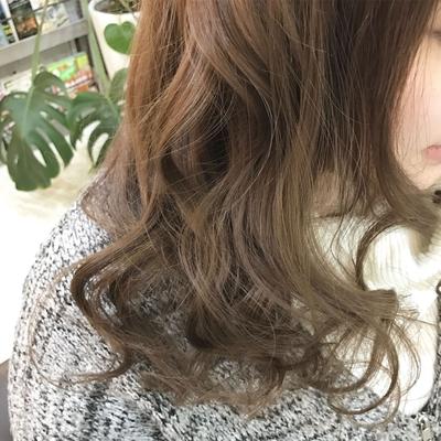 #ラベンダーベージュ #巻き髪 #トリコハート #巻き髪 #褒められ髪 #福岡