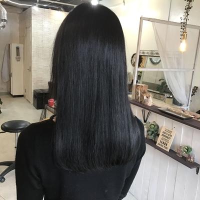 #美髪 #ストレート #ハホニコ #褒められ髪