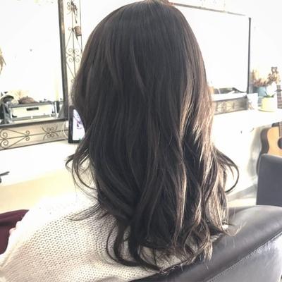 #ネイビーアッシュ #褒められ髪 #大人かわいい #トリコハート #美髪 #ツヤ髪 #暗髪