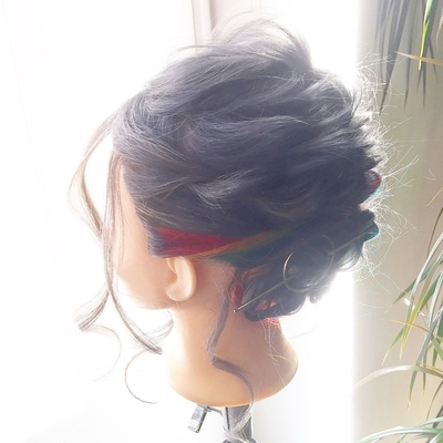 アレンジ  #三重県美容室 #東京美容室 #美容師 #ヘアアレンジ #hair #東京 #恵比寿#外国人風 #錦糸町#原宿#渋谷#表参道#銀座#三重県 #浅草橋#名張市 #伊賀市#名張市美容室 #かわいい#可愛い#zinghair#hairarrange#hairstyle #結婚式#follow#like #japan#虹 #虹リンパ#新小岩