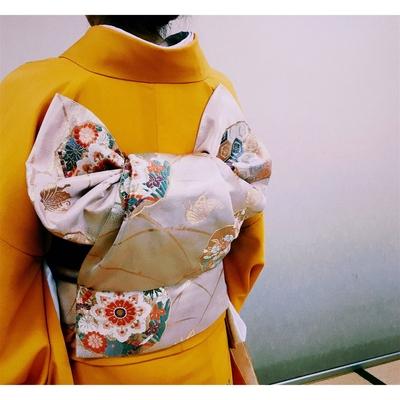 ふくら雀 振袖に結ぶ帯結びで最も格式の高い帯結びです #着付け #名古屋 #岐阜 #パーソナルスタイリスト #パーソナルカラー #骨格診断 #おしゃれ #振袖