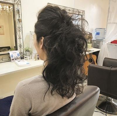 #ヘアアレンジ #セット #髪型 #福岡美容室 #可愛い