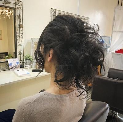 #ヘアアレンジ #可愛い #福岡美容室 #髪型 #セット