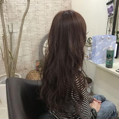 #ロング #褒められ髪 #大人かわいい #カワイイ #ピンク