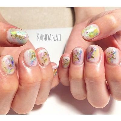 ニュアンスオーロラ * * #nail #nails #nailart #naildesign  #instanails #handpainted  #springnails #aurora #nuance  #gradation #ABgel #ABconcierge #nailsalon #kanoanail  #naildesigner #tocco #ネイル #ネイルアート #ネイルデザイン #ハンドペイント #春ネイル  #カラフル #オーロラ  #ニュアンスネイル #グラデーション #美甲 #ネイルサロン #西麻布ネイル #プライベートサロン #カノアネイル
