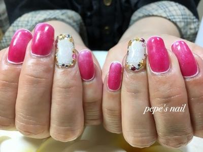#pepesnail #nail #nailart #nailstagram #gelnail #nails #paragel #ネイル #ネイルアート #手描きアート#夏デザイン#ハンドネイル #ネイルデザイン