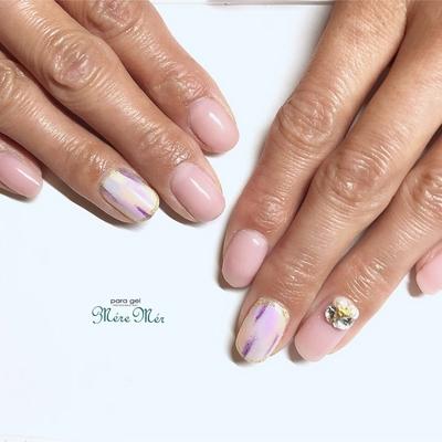 #スタッズ #Japanesenailart #nails #トレンド #ネイル #nailaddict #ビジュー#ヌーディー#はるネイル