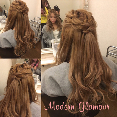 Modern Glamour(旭川/美容室)の写真