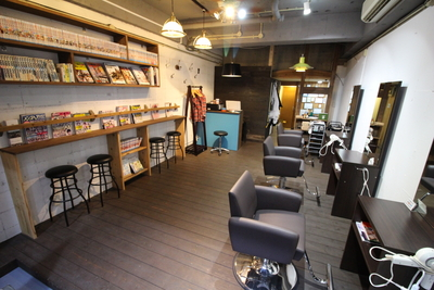 【夜23時まで営業中】美容室KAZE 下伊敷店(鹿児島・南九州)の写真